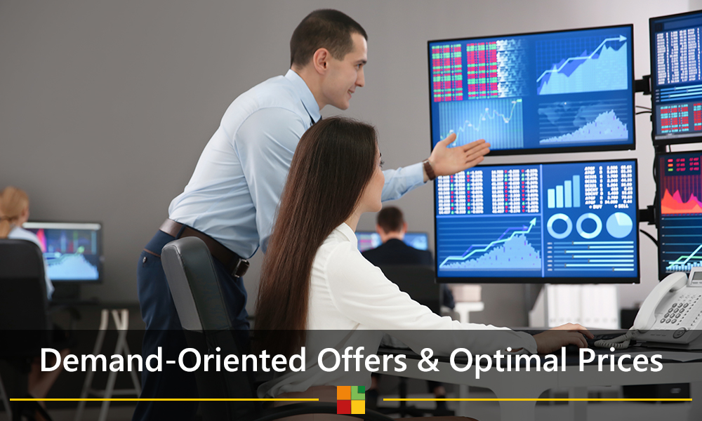 Demand-oriented offers and optimal prices